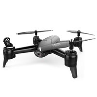 metal drone helikopter toptan satış-SG106 22mins Uçuş RC Drone - RTF Optik Akış / Irtifa Tutun HD Çift Kameralar Jest Fotoğraf İHA RC Helikopter