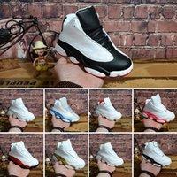zapatos juveniles para niños al por mayor-Nike air jordan 13 retro 2018 Nuevos zapatos de baloncesto Niños Niños 13s Zapatos deportivos de alta calidad 13 Horizon 13s Jóvenes Niños Niñas Zapatillas de baloncesto