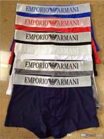 hot mens impresso cueca venda por atacado-19fw Designer Boxers Mens Underwear Medusa Impresso Masculino Boxer Cuecas Cintura 6 Cores Disponíveis Venda Quente
