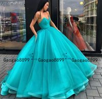 Wholesale evening gowns backs for women for sale - Group buy 2020 chic hunter Ball Gown Princess Prom Dresses Long Sweetheart Tulle Formal Evening Gowns Puffy Celebrity Red Carpet Dress for Women gown
