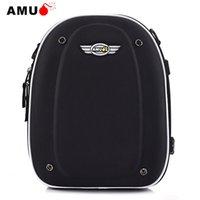 rucksäcke für motorräder großhandel-AMU Motorrad-Tasche Motocicleta Öltankrucksack Motorrad Rucksack Behälter Helm Rucksack