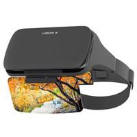 экран виртуальной реальности оптовых-Viewer Augmented Phone Holder HD Headset Professional Virtual Reality Screen Magnification AR Movie No Dizziness Game 3D Glasses