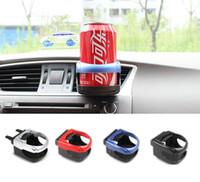 plastic cup holders for cars 도매-컵 홀더 삽입 자동차 에어컨 콘센트 자동차 드링크 홀더 플라스틱 자동차 컵 액세서리