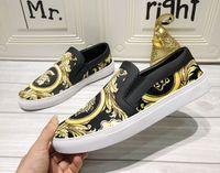 черные шнурки шнурка освобождают перевозку груза оптовых-2019s новая бесплатная доставка моды для мужчин с низким верхом черный тигр плоские кроссовки зашнуровать вскользь Run Away ботинки ботинки