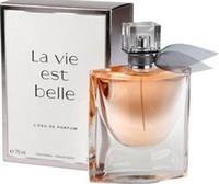 plumas de lejía al por mayor-Beautiful Life Perfume para mujer Perfume 75ML Fragancia saludable duradera EDP Parfum Eau de Toilette Incienso Aroma para los regalos de LADY Envío gratis