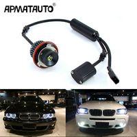 Wholesale bmw e65 lights for sale - Group buy Apmatauto x Error Free w LED Angel Eyes Marker Lights Bulbs White Red Blue For BMW E39 E53 E60 E61 E63 E64 E65 E66 E87 i