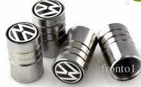 аксессуары для vw cc оптовых-Хром Метал колеса автомобиля шин Valve Caps для Volkswagen Scirocco CC GOLF 7 Golf 6 MK6 Polo GTI VW Tiguan ауди Sline аксессуары