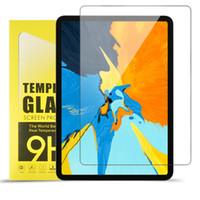 gehärteter bildschirm ipad luft großhandel-Ausgeglichenes Glas-Schirm-Schutz für iPad 2 3 4 Mini Air / Air2 Pro 2017 9,7 / 10,5 / 12,9 / 11 Zoll