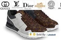 erkekler için burunlu ayakkabı toptan satış-Libobo9 Run Away Sneaker 1a3n7w Erkekler Elbise Ayakkabı Çizme loafer'lar Sürücüler Toka Sneakers Sandalet
