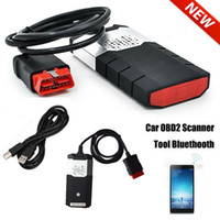 vw r al por mayor-R3 carro del coche OBD escáner de diagnóstico Kits VCI OBD2 TCS CDP Scanning Aparato USB R Bluetooth para DELPHI DS150E