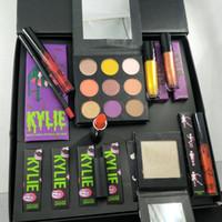 Wholesale lipstick bundles resale online - 2018 Newest THE HALLOWEEN COLLECTION BUNDLE Makeup Sets Makeup set big box Monster Haunt It Metallic Lipstick Hello Ghordous Glitter Eyes