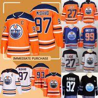 Wholesale milan lucic jersey resale online - Edmonton jersey Oilers Connor McDavid Ryan Nugent Hopkins Milan Lucic Wayne Gretzky Patrick Maroon Ty Rattie