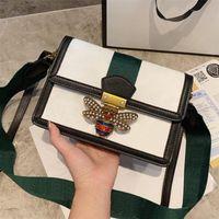 Wholesale butterfly designer handbags resale online - Pearl Butterfly Lady crossbody bags high quality designer shoulder bags women handbags