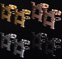 больше мужских костюмов оптовых-Продвижение HMS Luxury Запонки Человек костюм Рубашка запонок высокое качество логистики запросы Выберите более бренда Запонки бесплатная доставка