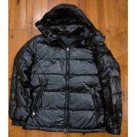 ingrosso canada giacca verde-giacca invernale da uomo incappucciato di alta qualità rivestimento di inverno caldo Plus Size piumino Man Down unisex inverno caldo cappotto outwear
