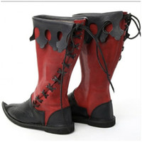 ingrosso vendita di stivali d'epoca-Hot Sale-shion Vintage Motorcycle Boots Cosplay scarpe da uomo regalo di Chirstmas Winter Snow Boot