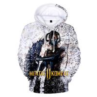 kombat spiele großhandel-Aikooki Mortal Kombat 11 Spiel 3D Hoodies Männer Frauen Casual Winter Streetwear Sweatshirts Mortal Kombat 11 3D Hoodies Kleidung