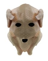 Wholesale chicken masks resale online - Latex Full Head Animal Plucked Turkey Chicken Quality Fancy Party Mask Costumes Rooster Head Mask