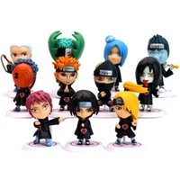 ingrosso naruto sasuke gaara-Personaggio Naruto Sasuke Uzumaki Kakashi Gaara Azione con supporti Figure funko pop Giappone Anime Collezioni Regali Bambini