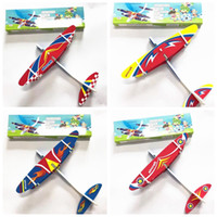 Wholesale glider toys for sale - Kids Electric Aircraft Toy Airplane Model Hand Throw Plane Foam Launch Flying Glider Plane Outdoor Game Interesting Toys MMA1897