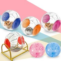 Wholesale guinea pigs toys for sale - Group buy Pet Hamster Toys Hamster Plastic Transparent Running Jogging Exercise Ball Funny Gerbil Guinea Pig Play Toys Safe Cage Tools