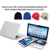 kış kulaklıkları toptan satış-Bilgisayar Telefon Gaming Headset İçin Mikrofon Spor Hat ile Bluetooth Kulaklık Müzik Şapka Kış Kablosuz Kulaklık Cap Kulaklık