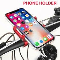 Wholesale motorcycle handlebar cell phone mount online – Aluminum Motorcycle Bike Bicycle Cell Phone Holder Mount Handlebar GPS Universal