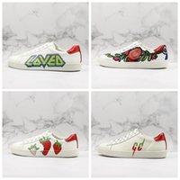lâminas mens venda por atacado-19SS Ace Sneaker Lâmina Adorei Low Top Sneakers Homme Mens Sapatos de Grife Moda Rhyton Sneaker Sapatilhas Das Mulheres Tamanho Chaussures 35-44