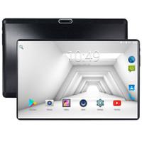pulgadas tablet wifi 4g al por mayor-Tabletas de 10 pulgadas Android 7.0 8 Núcleos 64 GB, Cámara dual, Tableta SIM 1280 * 800 WIFI OTG GPS, teléfono con Bluetooth 4G, la tableta