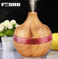 nebulizador al por mayor-300 ml Aire Aroma Humidificador Ultrasónico Aromaterapia Aceite Esencial Difusor Humidificador Luz Luz Nocturna Para Hogar 25S