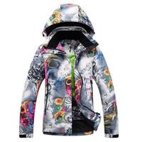 Wholesale winter outdoor jackets for women resale online - Snowboarding Jackets Snowboard Jacket Women Winter Coats for Snowboard Women s Winter Jacket Outdoor Sports Skiing Hoodie