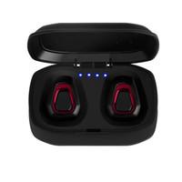 ahizesiz kulaklıklar toptan satış-A7 TWS Mini Kablosuz Bluetooth Kulaklık Stereo Kulaklık Handfree Spor Bluetooth Kulakiçi Kulaklık ile Iphone Android için Şarj Kutusu