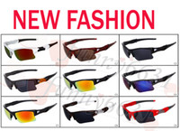 Wholesale good quality sunglasses brands resale online - summer brand new fashion men s Bicycle Glass sun glasses Sports goggles driving sunglasses cycling colors good quality