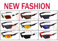 óculos de sol masculinos venda por atacado-Verão marca nova moda masculina de vidro de bicicleta óculos de sol esportes óculos de condução óculos de sol de ciclismo 9 cores de boa qualidade frete grátis