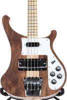 pescoços de baixo venda por atacado-Rare 4003W Natural Walnut Baixo 4 cordas graves corpo WALNUT vintage ric 4003 Elétrica Bass Guitar Neck Thru Corpo Um PC Neck corpo New Hot