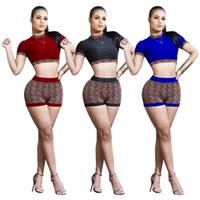 ropa de movimiento al por mayor-3663 2019 Ropa de mujer Pantalones de ocio para el tiempo libre Traje Juego de dos piezas Discoteca