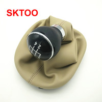 Wholesale gear shift boots resale online - SKTOO Car Gear Shift Knob Lever Gaitor Boot Cover Speed For Touran