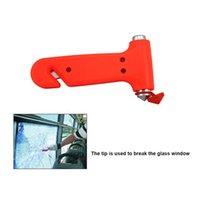 kırık pencere aracı toptan satış-Çok fonksiyonlu Iki-in-one Araba Güvenlik Çekiç Hayat Kurtarıcı Çekiç Kaçış Kırık Pencere Artefakt El Aletleri