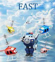 juguete flotante al por mayor-8 nuevos estilos peculiares de Super detección remota de los aviones juguetes libración Aviones luminoso eléctrico de los niños Juguetes L454