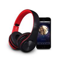 microphones d'écoute achat en gros de-B3 pliable casque sans fil Bluetooth casque sans fil écouteur sport avec microphone pour téléphone portable écouter de la musique