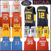 sale retailer a1be9 602fd Wholesale Larry Bird Indiana State Jersey - Buy Cheap Larry ...