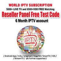 usb-tuner für android großhandel-IPTV Android Gratis-Abonnement Französisch IPTV Arabisch Europa Schweden Norwegen Afrika Indien Sport Italien Türkei UK USA H.265 m3u enigma2 smart tv