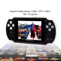 jeux pour mp5 achat en gros de-PAP Gameta II Plus 4 Go HDMI 64 bits Jeux MP4 MP5 Consoles de jeux Consoles de jeux Lecteur de poche portable