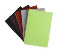carnet de note couverture en cuir achat en gros de-A5 Ancient Vintage Faux Leather Cover Notebook pour les horaires quotidiens Memo Fournitures de bureau pour l'école Cadeaux créatifs Daily Paper Journal Papeterie