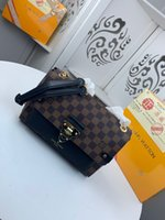 Wholesale best phone models online – Classic men s and women s Bag Messenger shoulder self use leather best selling fashion free delivery model n40110 size cm