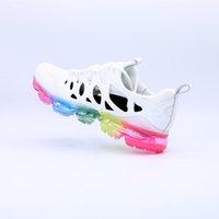 erkekler için mavi sandaletler toptan satış-2019 Örgü 2.0 Fly 1.0 Koşu Ayakkabıları BHM NOR Beyaz Mavi Leopar Erkekler Tasarımcı Ayakkabı Sneakers Eğitmenler Açık Sandal