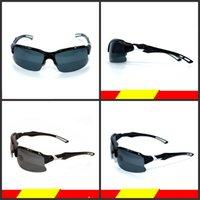 siyah ışık ultraviyole toptan satış-Açık Bisiklet Windbreak Gözlük Adam Ve Kadın Polarize Işık Sürme Gözlük Ultraviyole Geçirmez Siyah Moda Flaşörler Sıcak Satış 26ssD1