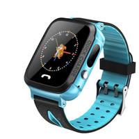 ingrosso orologio remoto nuovo-New Smart Watch Bambini Orologio da polso impermeabile Baby Watch con telecamere remote Sim Calls Regalo per bambini Pk Dz09 Gt08 A1 Smartwatch J190526