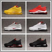 zapato de correr al por mayor-Designer men shoes Nike vapormax women [Con reloj deportivo] Zapatillas de deporte para hombre T9 Plus de 2019 Chaussures, calzado deportivo informal para hombre Zapatiallas