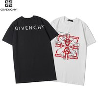 teste padrão moderno da camisa de t venda por atacado-Novo padrão primavera e verão S6Givenchy Paris 2020 mens Designers Mulheres de rua marca de moda de luxo design moderno T-shirt Floral